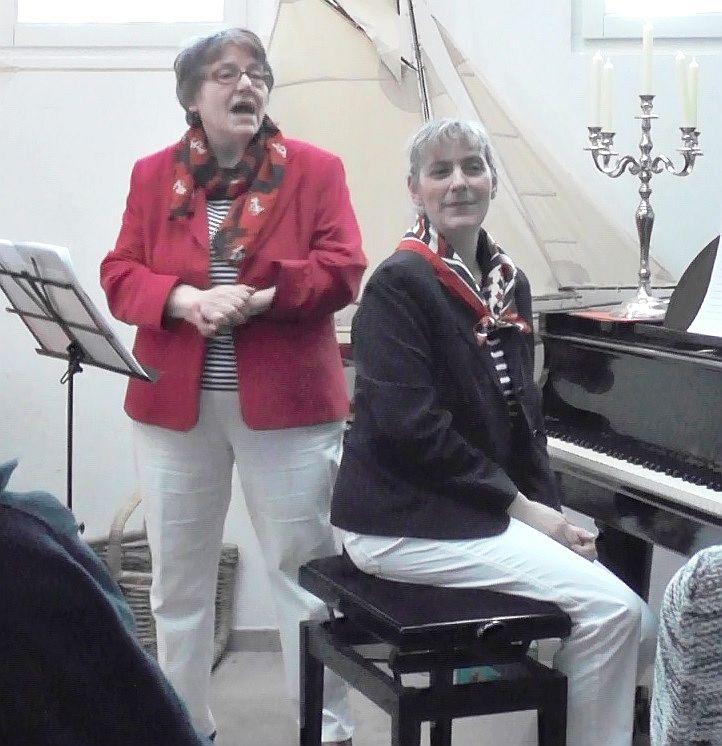 Duo Dreiklang nach einem Live-Auftritt in Hamburg